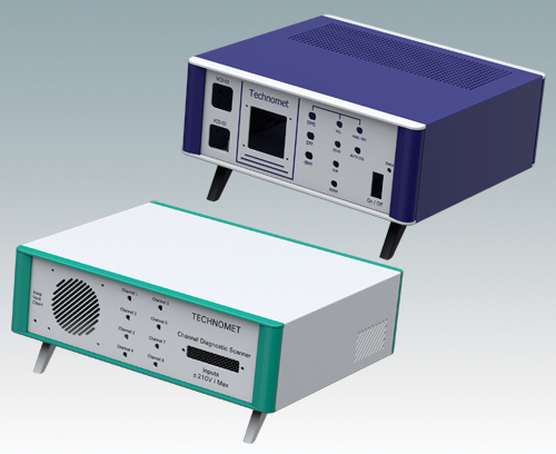 Branding instrument enclosures in custom colors