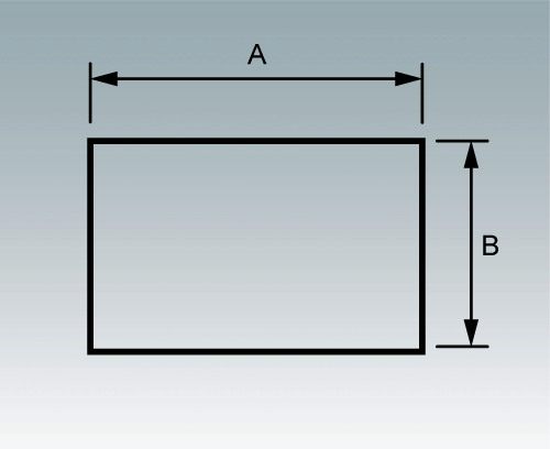 M0000802 Rectanglular Cutout