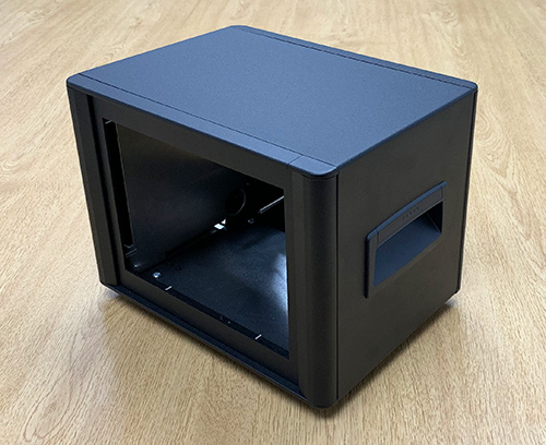 Special height, width and depth Technomet enclosure.