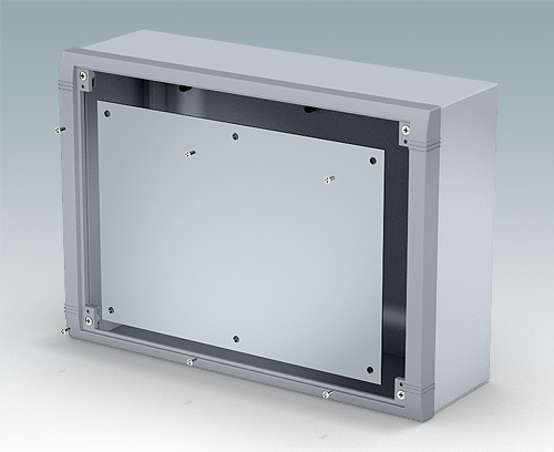 Accessory internal mounting plate