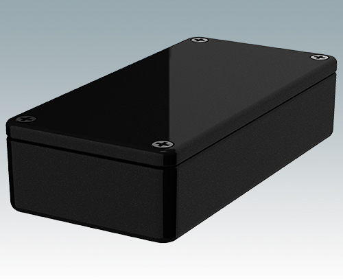 5002-12-BLK Diecast Enclosure
