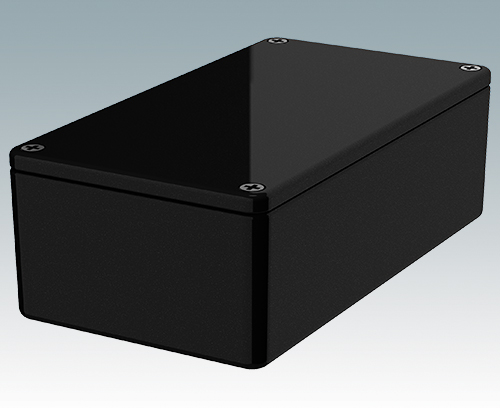 5004-14-BLK Diecast Enclosure