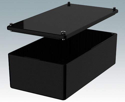 5005-15-BLK Diecast Enclosure