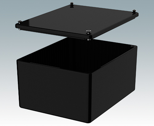 5007-17-BLK Diecast Enclosure
