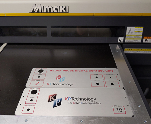 Printing of multiple parts in one operation reduces costs