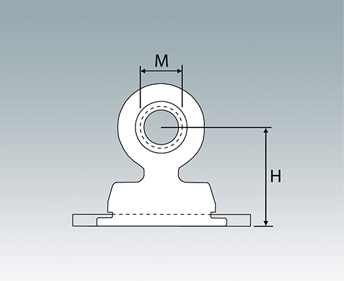 M0000721 Right Angle Panel Nuts