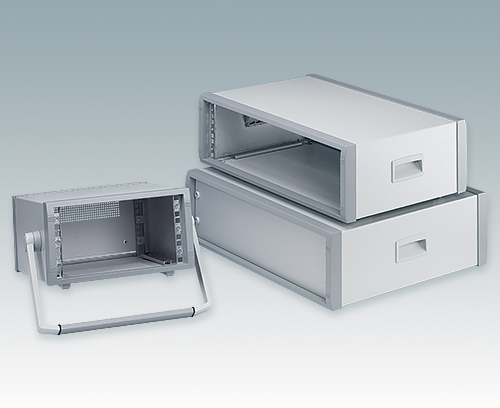 "3U enclosures for 10.5"" and 19"" equipment"