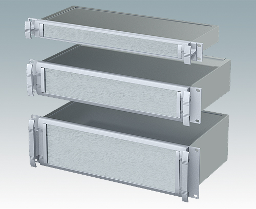 "Versatile and robust 19"" rack mount enclosures"