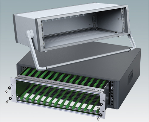 19 inch mini-rack enclosures