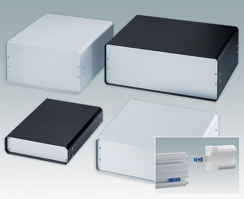 New Fast-Assembly UNICASE Instrument Enclosures